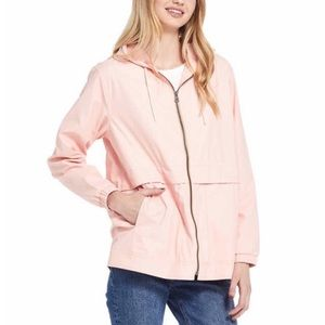 Weatherproof Vintage Rose Rain Slicker  L